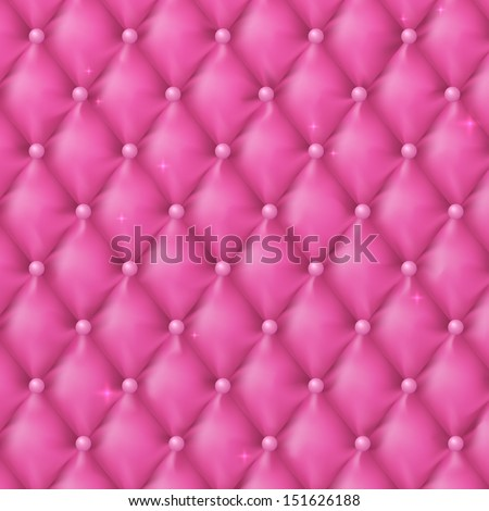 Luxury pink background with pearls. Vector illustration. Abstract design.