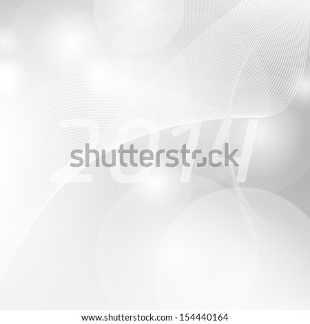 Luxury template for christmas or new years greeting card or calendar. 2014 calendar. - stock vector
