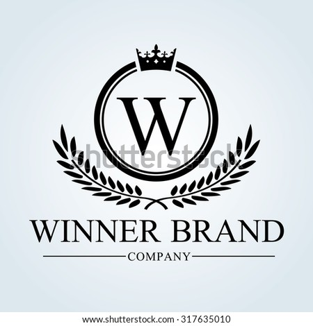 Luxury Vintage, Crests logo,Crest. Business sign, identity,Restaurant logo, Royalty Brand, Boutique, Hotel, Heraldic,education, Fashion ,Real estate,Resort,King, vintage, property,Vector logo template - stock vector