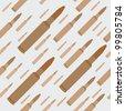 machine gun bullets seamless background vector illustration - stock vector