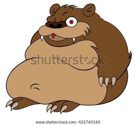 bears art Chubby