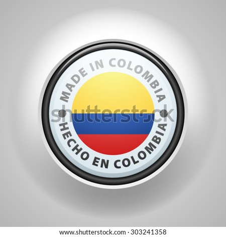 Made in Colombia (non-English text - Made in Colombia)