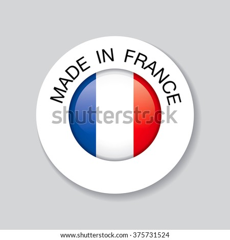 made in france. template icon design