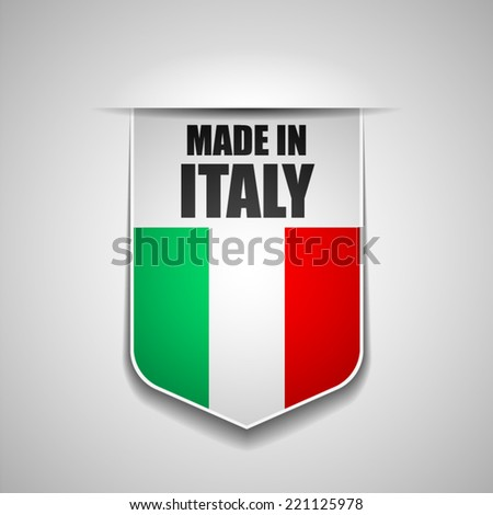 Made in Italy - stock vector