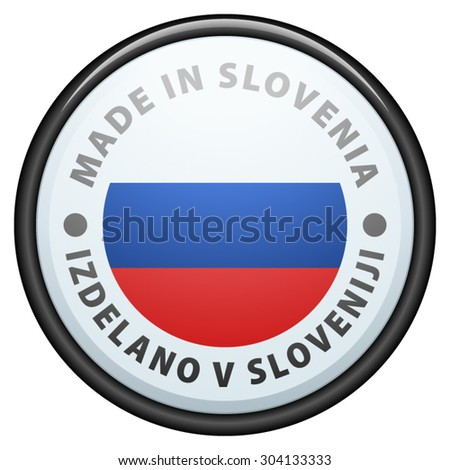 Made in Slovenia (non-English text - Made in Slovenia)