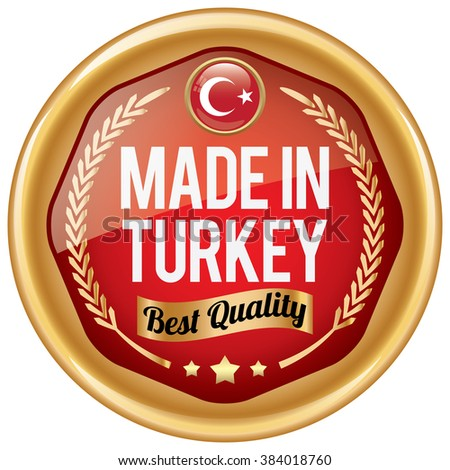 made in turkey icon