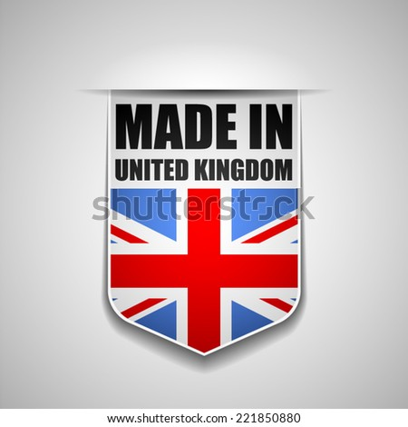 Made in United Kingdom - stock vector