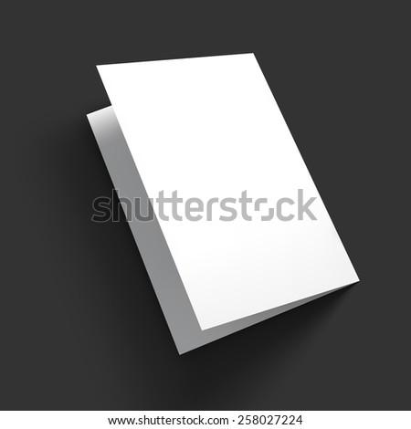 cardboard brochure holder template - brochure display stock images royalty free images