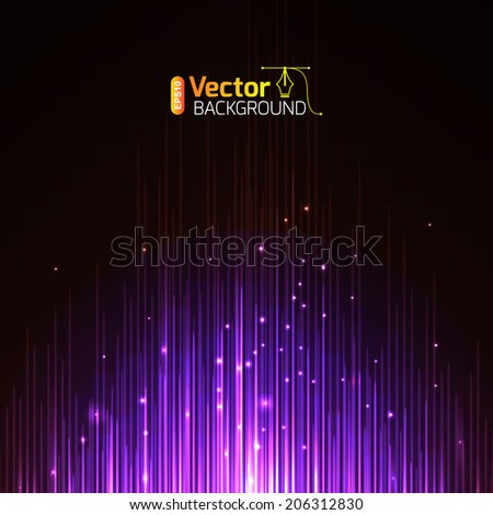 magic equalizer - stock vector