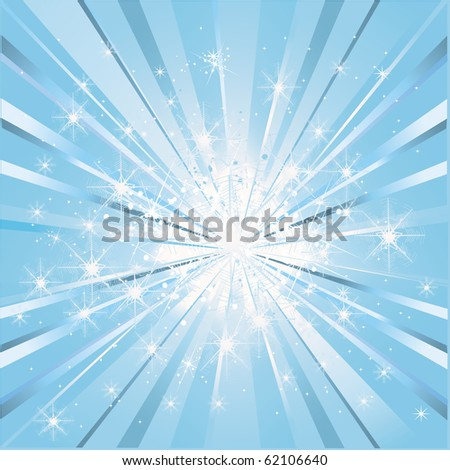 Magic Light - stock vector