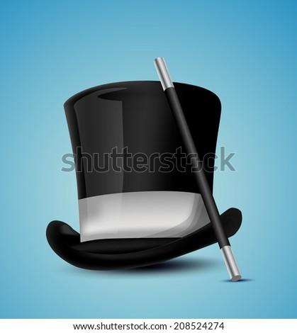 Magician Hat - stock vector