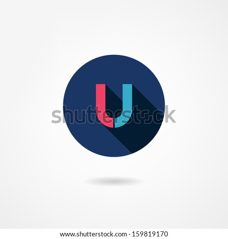 magnet icon - stock vector