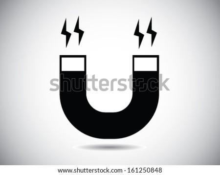 Magnet Symbol - stock vector