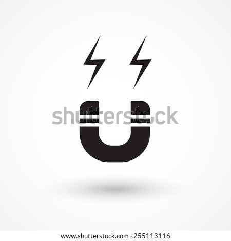 Magnet Symbol Stock Vector (2018) 255113116 - Shutterstock