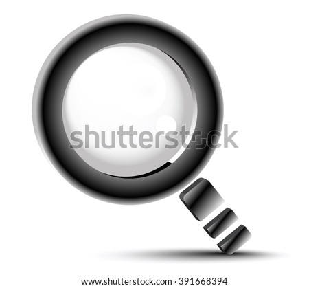magnifying glass, search button, search symbol, magnifier