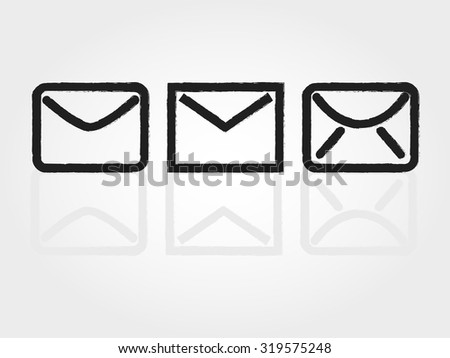 Mail - stock vector