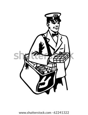 Vintage Mailman Stock Images, Royalty-Free Images ...