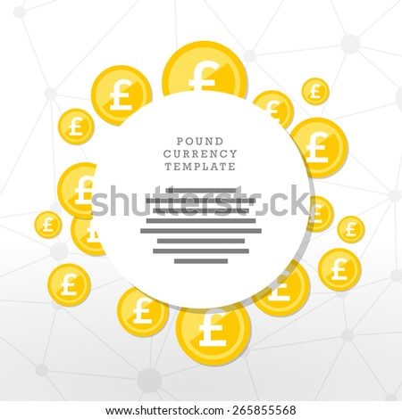Mainstream currency gold coins. Money concept illustration. Vector graphic template. - stock vector