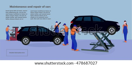 Maintenance and repair cars