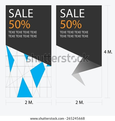 major Label - stock vector