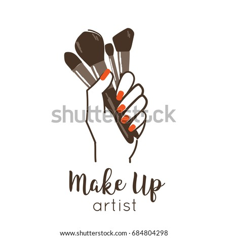 makeup artist logo vector makeup vidalondon