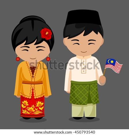 Malaysian People Clipart Malaysian People Stock...
