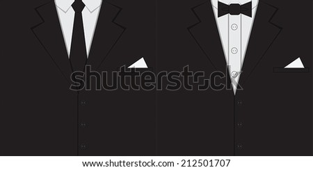Male clothing suit background, VECTOR, EPS10