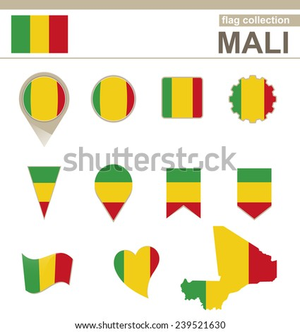 Mali Flag Collection, 12 versions