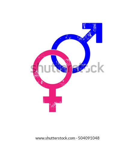 Man and female sign.
