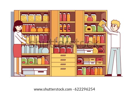 Food Cupboard Stock Images Royalty Free Images Amp Vectors