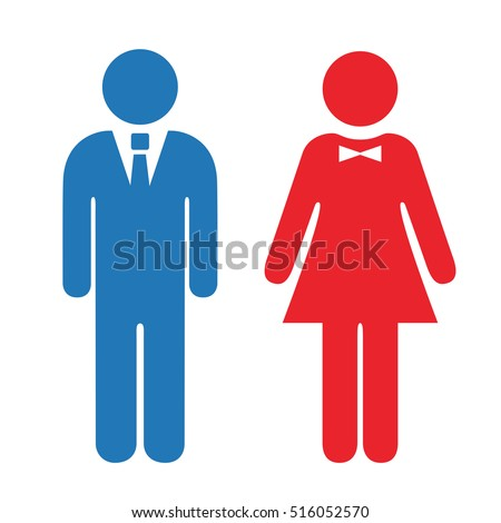 man and woman icon man and woman stock images royalty free images vectors 7750