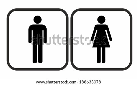 Bathroom Sign Vector Entrancing Bathroom Symbol Stock Images Royaltyfree Images & Vectors . Design Inspiration