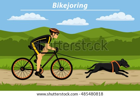 Bikejoring: The sport where dogs pull cyclists along - BBC ...