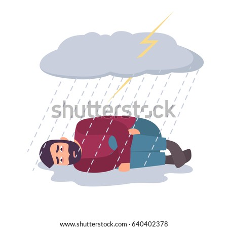 Depression Stock Vectors Images Amp Vector Art Shutterstock