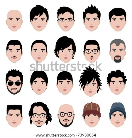 Man Men Male Human Face Head Hair Hairstyle Mustache Bald People Fashion