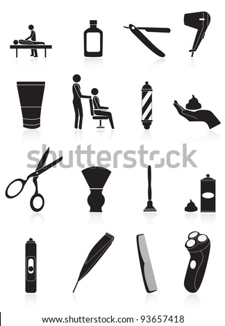 man products - stock vector