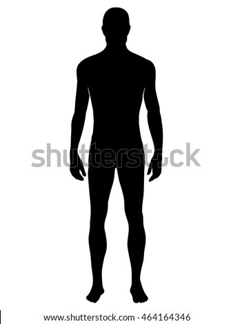 man silhouette isolated vector illustration eps stock vector 2018 rh shutterstock com male silhouette vector free dancer silhouette man vector