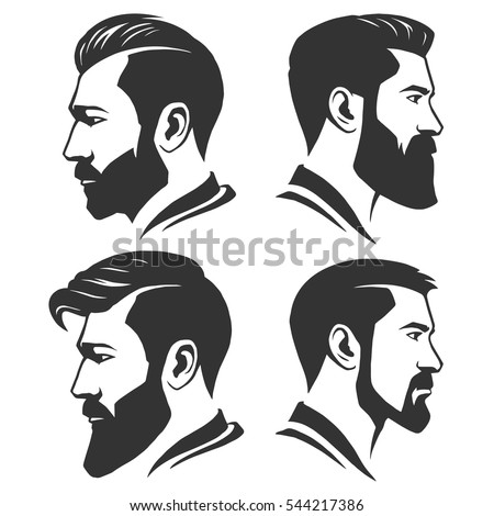 Bearded Man Silhouette Profile | www.pixshark.com - Images ...