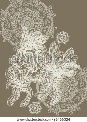 Mandala Design - stock vector