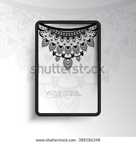 Blurred Photo Realistic Nature Elements Flat Stock Vector ...
