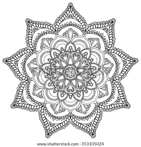 Mandala Stock Photos, Royalty-Free Images & Vectors - Shutterstock