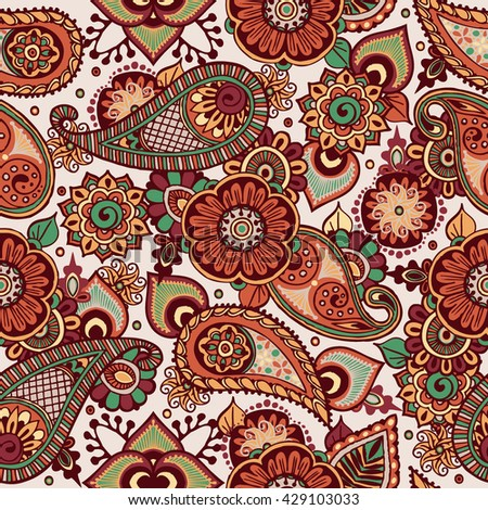Mandala. Vector pattern for design. Ethnic decorative element for design. Hand drawn. Islam, Arabic, Indian, ottoman motifs.