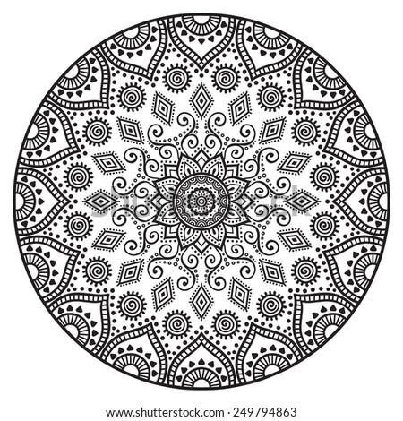 Mandala Design Stock Royalty Free & Vectors