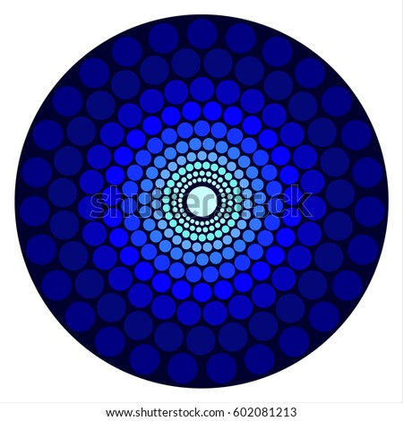Mandala Wall Painting To Enhance Focus While Meditation