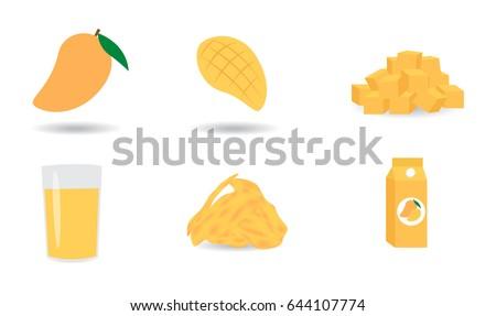 mango vector set