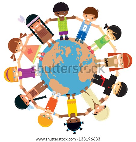 Children Around The World Stock Images, Royalty-Free ...