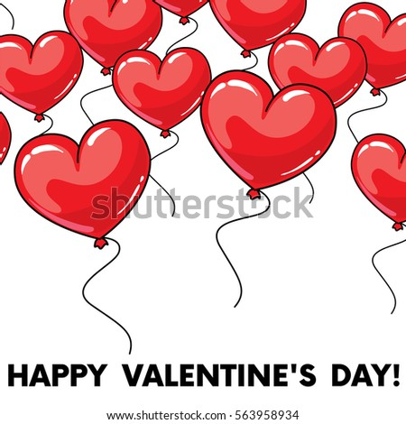 english valentines day card design stock vector 69855532, Ideas