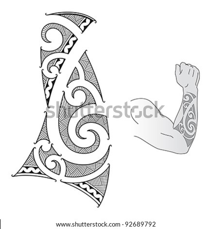Maori Tattoo Stock Images, Royalty-Free Images & Vectors ...