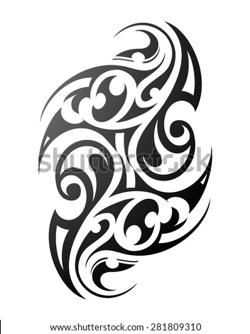 maori tattoo stock images royalty free images vectors shutterstock. Black Bedroom Furniture Sets. Home Design Ideas