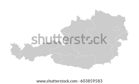 Austria Map Stock Images RoyaltyFree Images Vectors Shutterstock - Austria europe map